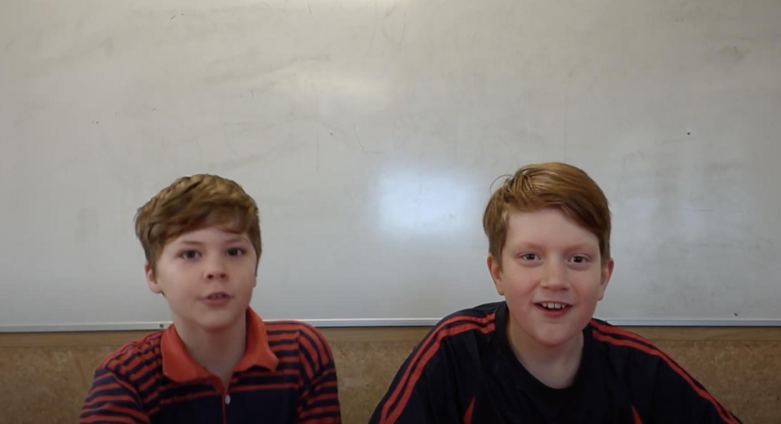 Somerfield Te Kura Wairepo school boys smiling